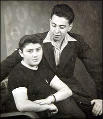 Perla and David in 1945