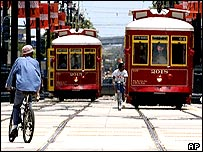 2004 picture of New Orleans Canal St