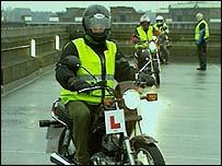 Learner bikers