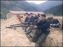 Maoists in west Nepal