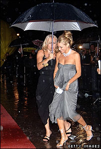Sienna Miller and friend at Venice