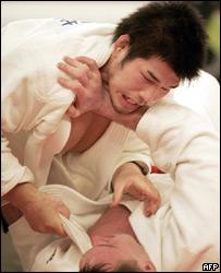 Judo match