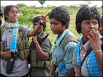Tamil Tiger recruits