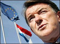 Peter Mandelson in Beijing