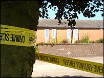 Scene near where body was found (picture courtesy of Paul Hurst)