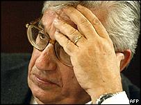 Bank of Italy Governor Antonio Fazio
