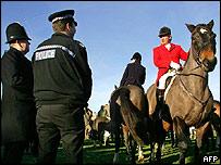 Hampshire Hunt in Herriard