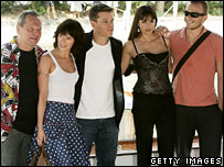 Terry Gilliam, Lena Headey, Matt Damon, Monica Belucci, Heath Ledger