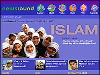 Islam Week on Newsround is backed up by articles on its website
