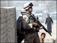 Italian soldier in Iraq