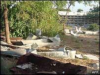 Somali cemetery