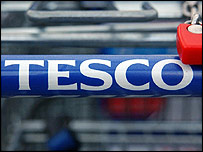Tesco trolley