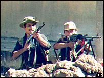 FMLN guerrillas attack San Salvador