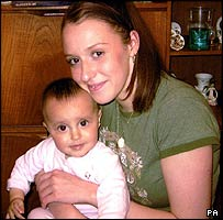 Lynn Savery and daughter Mia
