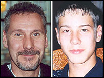 Allan Tartaglia, 44, and his son James, 15