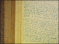 Irene Nemirovsky's handwritten novel