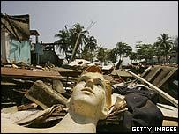 The town of Galle, Sri Lanka