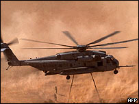 CH-53 Super Stallion helicopter (archive picture)