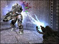 Screenshot from Painkiller, Dreamcatcher