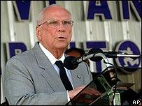 Enrique Bolaños, presidente de Nicaragua