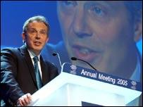 El primer ministro británico, Tony Blair