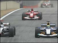 Honda and Toyota agree with the principles of the three manufacturers planning a rival series to Formula One.
