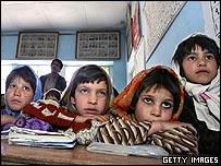Girls in a charity school