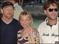 Ron Howard, Renee Zellweger and Russell Crowe