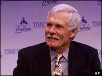 Ted Turner, former vice chairman of AOL Time Warner