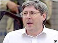 Resigning US Under-Secretary of Defence Douglas Feith