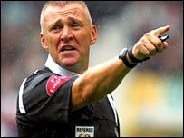Premiership referee Graham Poll