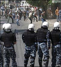 Palestinian unrest in Khan Yunis