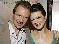 Ralph Fiennes and Rachel Weisz star in The Constant Gardener