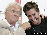 Sir Anthony Hopkins and Jake Gyllenhaal