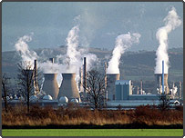 A power station in Scotland