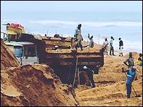 Sand collectors