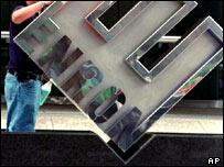 Enron logo, AP
