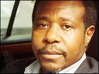 Former Rwandan hotelier Paul Rusesabagina
