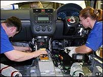 European car workers