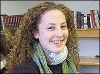 Deputy head girl Sasha Pomerance