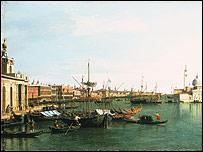 Canaletto's Bacino di San Marco