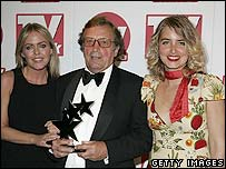 Patsy Kensit, Kenneth Farrington and Emma Atkins