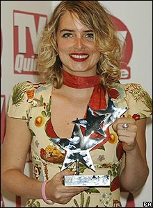Emma Atkins, who plays Charity Tate