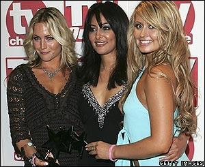 (L-R) Helen Latham, Laila Rouass and Sarah Barrand