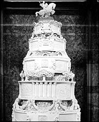 Cake for Queen Elizabeth II's wedding