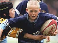 Mini rugby league