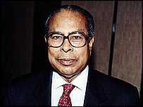 Shah AMS Kibria (archive image from 1997)