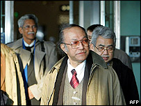 Gam delegation arrives in Helsinki -27/01/05