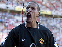 Manchester United and England defender Rio Ferdinand
