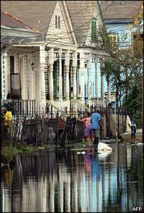 Flooded Garden district